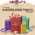 Carousel 12. Yılında Para Dağıtıyor
