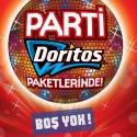 Parti, Eğlence ve İnanılmaz Hediye Doritos Paketlerinde