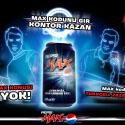 Pepsi Max İçenler Maksimum Kazanıyor!