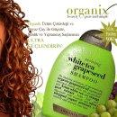 Saçlarınızı Beyaz çay ve Üzüm Çekirdeği ile Ultra Güçlendirin