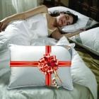 Sıcacık Bir Uyku İçin Penelope Kaz Tüyü Yorgan, Yastık Hediyeli!