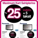 Vatan Bilgisayar'dan Maximum Kart Sahiplerine Panasonic Televizyon Fırsatı
