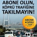 Turkcell Aboneleri'ne Köprü Trafiği Çilesi Yok!