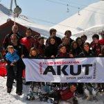 Genç Spor Kulübünden 'Asım Kurt Kupası'nda Büyük Başarı: AKUT Spor Kulübü Kayakta Türkiye İkincisi