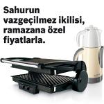 İftar ve Sahurda Hafif Lezzetler İsteyenlere Bosch Tost ve Çay Makinelerinde Çok Lezzetli Ve Hafif Ramazan Kampanyası