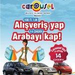 Carousel'den Bayram Alışverişlerinizde Otomobil Kazanma Şansı!