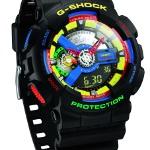 Casio Saatleri G-Shock Serisinden Dee & Ricky Tasarımı Özel bir Model GA-110DR