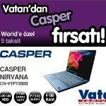 Vatan'dan Casper Fırsatı!..