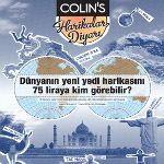Colin's ile 7 Yeni Dünya Harikasını Keşfedin!