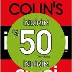COLIN`S %50 İndirim Fırsatıyla Jean Severleri Bekliyor...