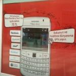 Vodafone Cep Merkezlerinin Vitrinleri