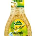 Kühne Salata Sosları ile Salatalar Ziyafete Dönüşüyor