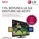 LG ile Digiturk Keyfi 1 Yıl Boyunca HD Kalitesinde