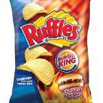 Ruffles, Burger King'in Enfes Tadı İle Buluştu
