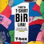 T.box'ta T-shirt ve Bluz Bir Lira!
