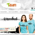 İstanbul'un silüeti tişörtlere yansıdı