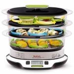 Küçük Mutfaklar İçin: Tek Seferde 3 Çeşit Yemek Yapabilen Lezzetli Buharlı Pişirici Tefal Vitacuisine Compact