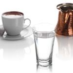 Truva Mini Su Bardağı İle Türk Kahvesi Sunumları Daha Şık