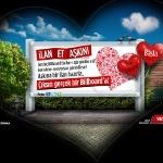 Billboard'da İlan-ı Aşk Etmek İsteyenler Bu Sitede Buluşuyor