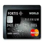 Fortis Titanium Worldcardla Yemek %50 İndirimli