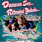 İstanbul Dans Günü`nde Dansını Seç Ritmini Yakala