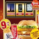 KFC'den Tower Burger Menü ile Dubai Seyahati, iPad ya da iPhone Kazanma Şansı