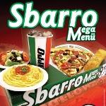 Sbarro'dan Mega Lezzet Mega Menü'de