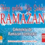 Çekmeköy / Çekmeköy'de Ramazan Şenliğe Dönüşüyor