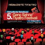 İstanbul Bahçelievler Belediyesi 5. Genç Sahne Tiyatro Festivali