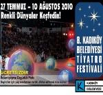 8. Kadıköy Belediyesi Tiyatro Festivali