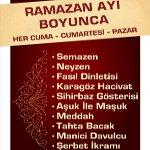 Ramazan Ayı'nın Muhteşem Heyecanı ve Eğlencesi Bu Ramazanda Maxi City AVM' lerde