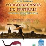 İstanbul 1. Uluslararası Yorgo Bacanos Ud Festivali