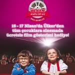 Geleneksel Ülker Çocuk Sineması Şenliği Nisan Ayında 4. Kez Miniklerle Buluşuyor