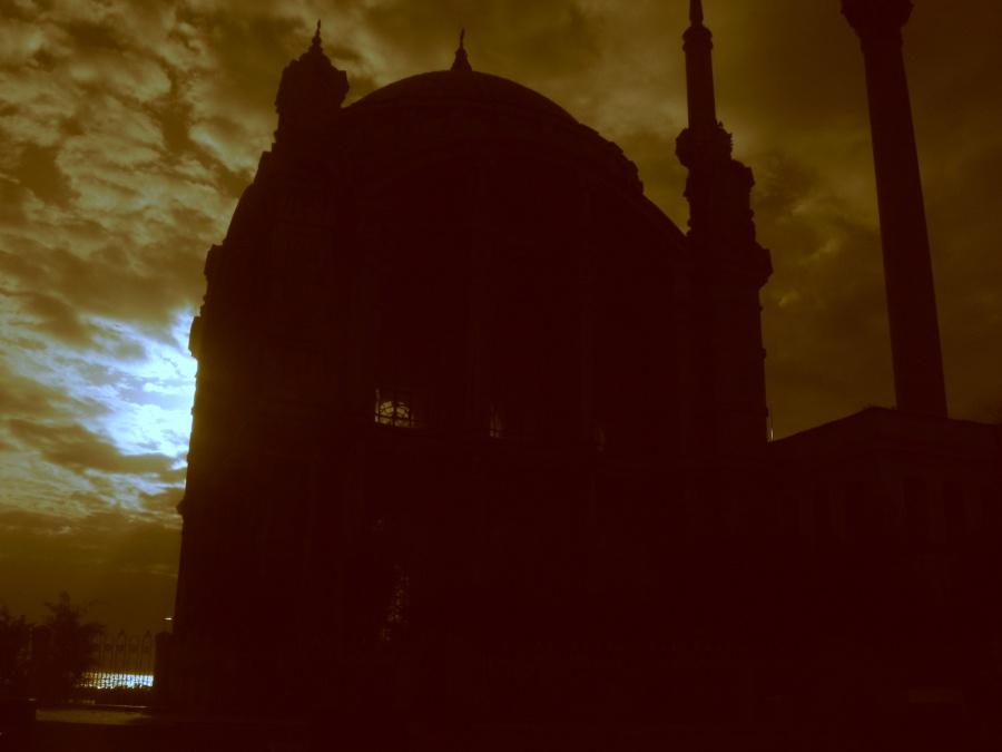 Ortaköy Cami Silüeti - Dinçer Önel