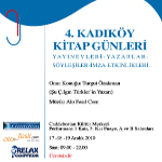 Kadıköy Belediyesi Kitap Günleri'ne Davetlisiniz