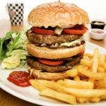 Happy Moon´s Cafe Restaurant´da Hamburger Keyfi