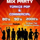 Mix Party: Türkçe Pop - Commercial
