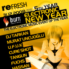Burn Presents Electronic New Year