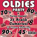 70s 80s 90s Oldies Party & Türkçe Nostalji - Dj Hakan Küfündür