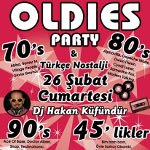 70s 80s 90s Oldies Party Türkçe Nostalji - Dj Hakan Küfündür