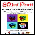 80`ler Parti DJ Şener Çetin & Çağlan Tekil