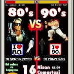 80`s vs 90`s Karşı Karşıya