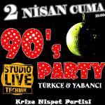 90`s Party (Türkçe & Yabancı)