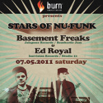 Burn Presents: Basement Freaks - Ed Royal