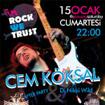 Cem Köksal İle in Rock We Trust Party