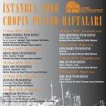 2010 İstanbul Chopin Piyano Haftaları - Emre Şen Piyano Resitali