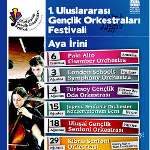 1. Uluslararası Gençlik Orkestraları Festivali - Ulusal Gençlik Senfoni Orkestrası