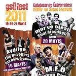 GSÜFEST 2011 - Aydilge - The Revolters - GSÜ Müzik Grupları