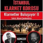 İstanbul Klarnet Korosu, Klarnetler Bulusuyor II, Solist Hüsnü Şenlendirici (Klarnet)