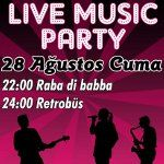 Live Music Party: Raba Di Babba & Retrobüs